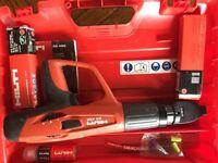 Hilti nail gun as new Immaculate