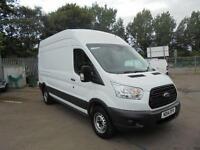 Ford Transit 2.2 Tdci 100Ps H3 Van LWB DIESEL MANUAL WHITE (2014)