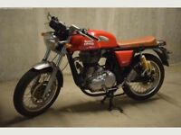 2015 Royal Enfield Continental GT - Red - 3860 miles