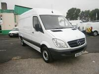 Mercedes-Benz Sprinter 313cdi mwb High Roof 130ps DIESEL MANUAL WHITE (2012)