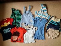 HUGE baby boys clothes bundle 0-3months