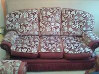 3seater 2 chairs sofa