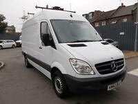 Mercedes-Benz Sprinter 313 CDI MWB 3.5T HIGH ROOF VAN DIESEL MANUAL WHITE (2012)