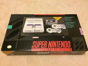 Complete in box Super Nintendo SNES and Nintendo 64 N64