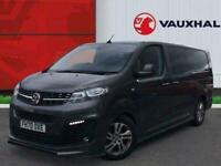 2021 Vauxhall Vivaro 2.0 Turbo D 3100 Elite Crew Van 5dr Diesel Manual L2 H1 EU6