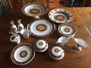 Bacchus T LImoges Adeline 20 piece China New Never Used