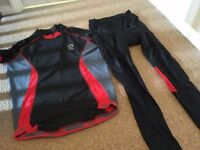 Muddy Fox Cycling Top and Matching Trousers