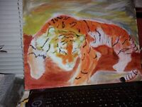 PAINTING........MAJESTIC TIGER