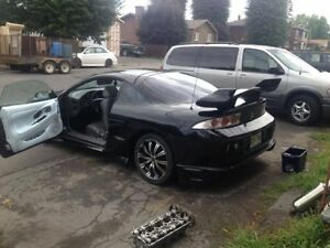 Mitsubishi eclipse rs 1996 full mod bodykit complet 130000 km