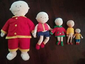 Caillou Dolls, Books and DVD