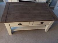 Beautiful solid reclaimed wood coffee table