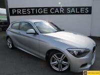 2014 BMW 1 Series 2.0 116d M Sport Sports Hatch (s/s) 3dr Diesel silver Manual