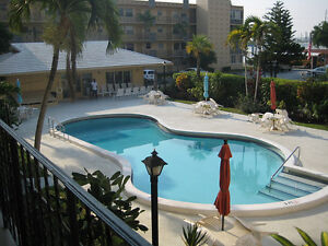 Hollywood Beach Florida 2 BR Condo for rent $1400 per month