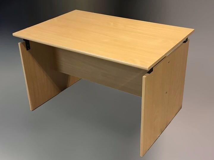 Wood Effect Large Desk