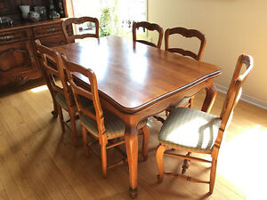 High end solid wood dining tables - only 3 left!