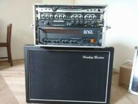 Guitar gear, power amp, preamp, cabinet, tuner and exciter