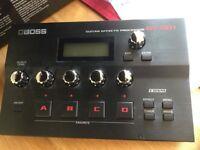 Boss GT-001 audio interface/multi effects unit