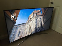 49in Samsung **CURVED** 4k LED Smart HDR TV voice ctrl -wifi- 1500hz - Freeview & Freesat HD
