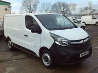 Vauxhall Vivaro 2900 1.6cdti L2 H1 115ps DIESEL MANUAL WHITE (2014)