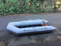 XM 230 Inflatable Dinghy / Tender with 4 HP Outboard