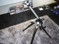 High quality solid Kennett Benbo engineered tripod.