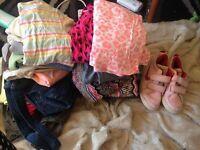 Large girls clothing bundle aged 9-11