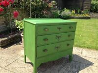 Shabby Chic Vintage Drawers