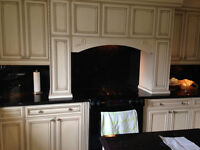 NEW Antique White Kitchen cabinets-SOLID MAPLE-never installed