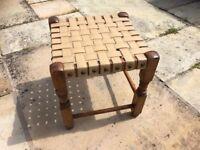 Small vintage foot stool
