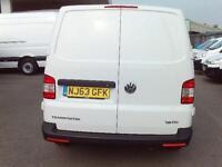 Volkswagen Transporter T28 SWB 2.0TDI 102PS VAN DIESEL MANUAL WHITE (2013)