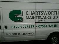 Cleaning -Hi we are well-estabilshed company base in brighton and west Sussex