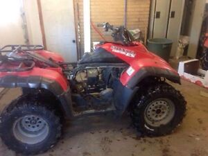 Parting out Honda Fourtrax 350 and Foreman 450