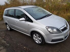 BARGAIN 7 SEATER!! Vauxhall Zafira Club *12 MONTHS MOT*Recent Service*Ideal family car*Clean & Tidy