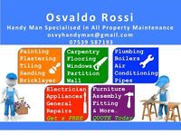 Available24/7 for ANY RESIDENTIAL AND COMMERCIAL REPAIRS (Painting, Carpentry,Tiling, Plumbing)