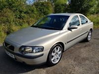 L@@K Volvo S60 D5 **DIESEL**AUTO**F.S.H**Leather**Alloys Refurbished**Must See!!**50MPG!!!