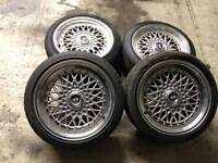 Lenso BSX / BBS reps alloy wheels