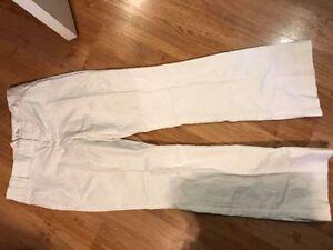 White Size 8 Rickis pants