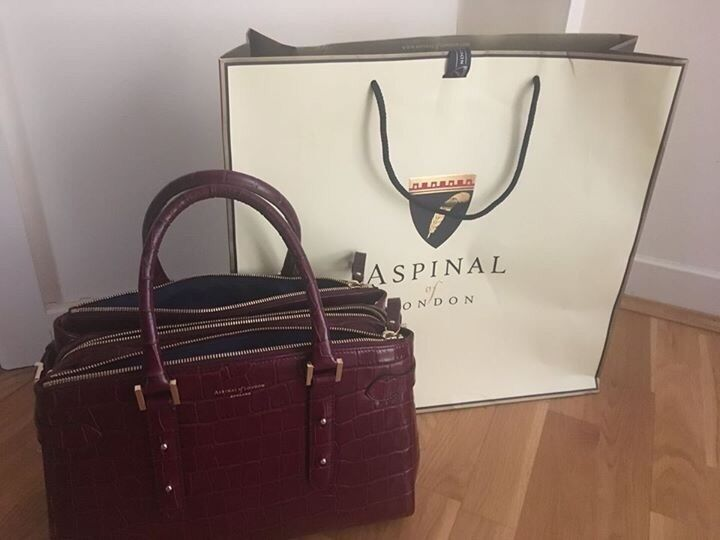 Aspinal Of London Brook Street Tote