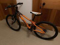 "Saracen Junior Bike - Sizes: frame 12"" wheels 24"""