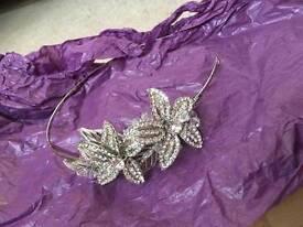 Wedding/party flower headband