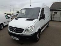 Mercedes-Benz Sprinter 313 CDI 3.5T Van MWB High Roof DIESEL MANUAL WHITE (2013)