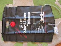 Solar Shower (camping) bag