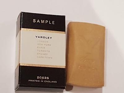3 x 30 gramm Yardley Soap Savon for Men Seife Herrenduft Sample Mini Seifen