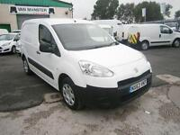 Peugeot Partner 850 S 1.6HDI 92ps Van DIESEL MANUAL WHITE (2013)