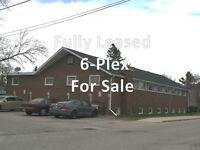 Fully Leased 6-Plex (multi-family apartment)