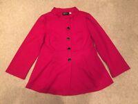 Brand New Bob Mackie Red Jacket RRP£199
