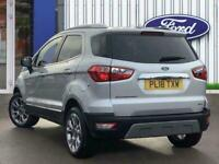 2018 Ford Ecosport 1.0t Ecoboost Titanium Suv 5dr Petrol Manual s/s 125 Ps Hatch