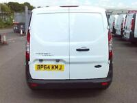 Ford Transit Connect T200 SWB LOW ROOF VAN TDCI 75PS DIESEL MANUAL WHITE (2015)