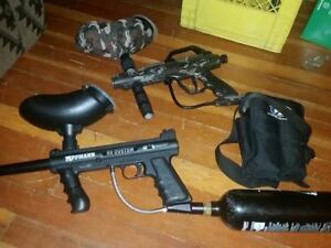 Looking to trade 2 or 3 paintball guns for xbox one package