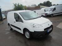 Peugeot Partner L1 850 S 1.6 Hdi 92 Van SLD DIESEL MANUAL WHITE (2012)